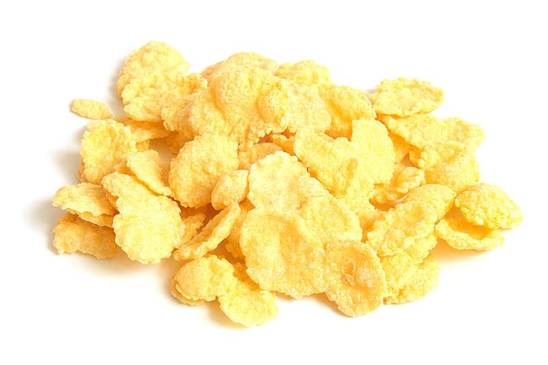 玉米片,什锦烤燕麦片,谷物,清新,背景分离,食品,快餐店,成分,堆,甜食