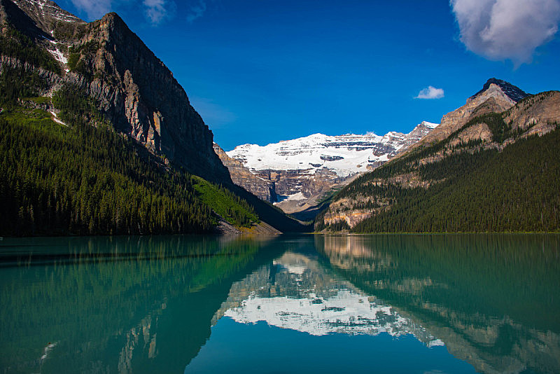 露易斯湖,水,洛矶山脉,水平画幅,阿尔伯塔省,无人,夏天,户外,湖,山