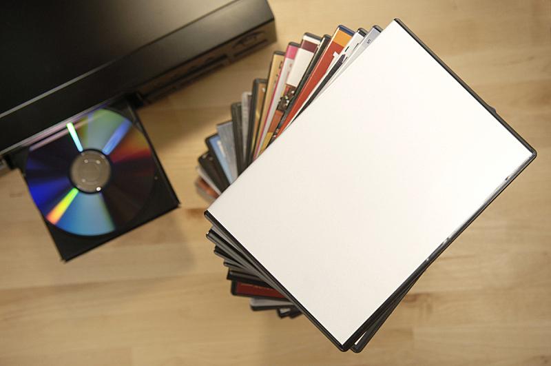 dvd盒,空白的,进行中,cd播放软件,dvd机,dvd,光盘盒,光盘机,光盘,塑料容器