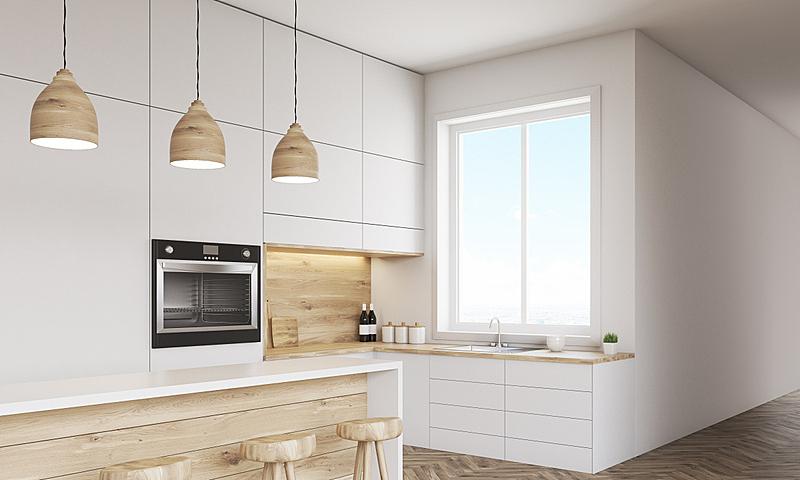 室内,厨房,灶台,现代,办公室,水平画幅,墙,无人,椅子,办公椅