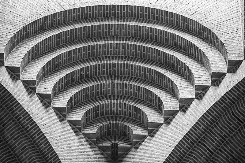纹理,圆形,式样,成一排,砖,螺线,平衡折角灯,做,无限