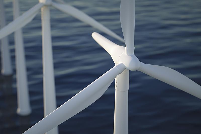 能源,极简构图,风力,风轮机,涡轮,海洋,风,电缆,天空,灵感