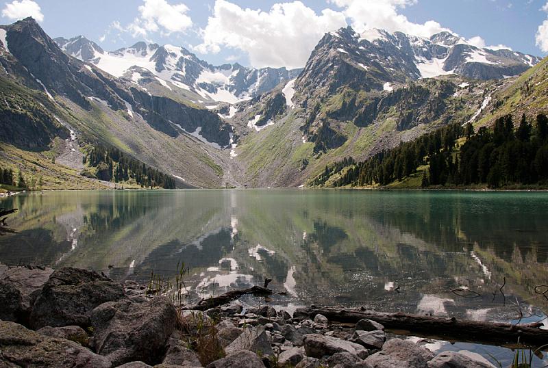 湖,山,自然,水,天空,洛矶山脉,宁静,非都市风光,水平画幅,云