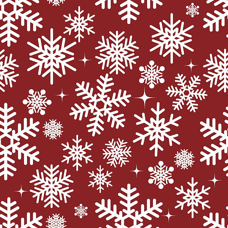 雪花,背景,白色,纺织品,无人,绘画插图,符号,四方连续纹样,圣诞礼物