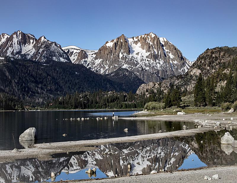 六月湖,夏天,自然,宁静,美国,水平画幅,地形,无人,户外,湖