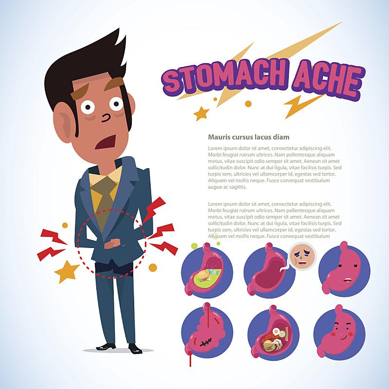 胃,痛苦,信息图表,肚子,概念,男人,胃疼,人类消化系统,丑陋,健康保健