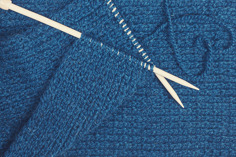 针,蓝色,羊毛,球,水平画幅,纺织品,无人,传统,纤维,线绳