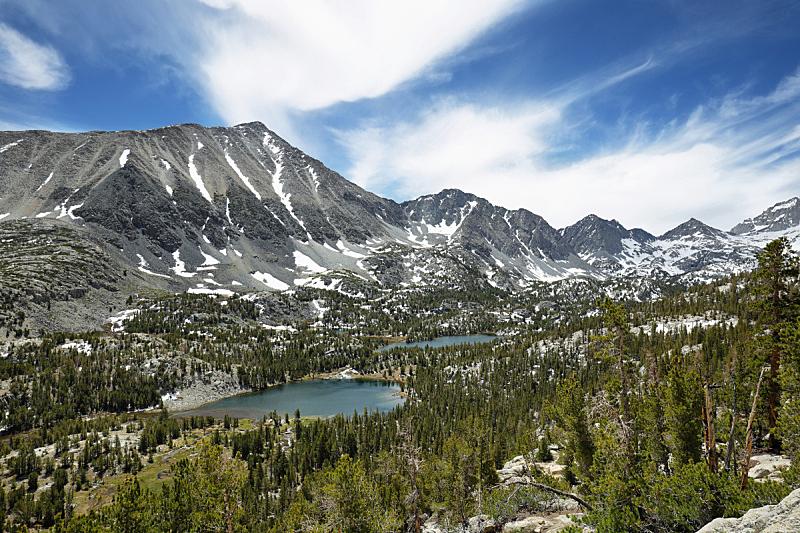 湖,山谷,风景,水,美国西部,水平画幅,雪,无人,尖峰,户外