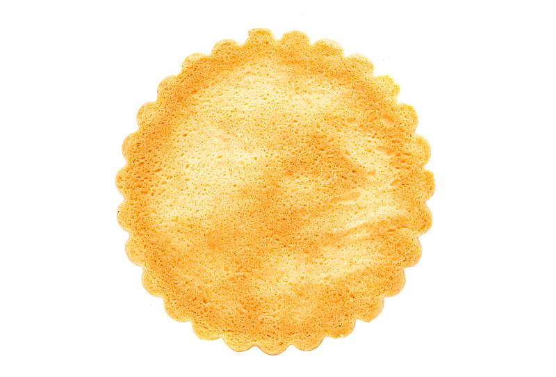 饼干,仅一朵花,白色背景,水平画幅,不健康食物,夏天,小吃,特写,饥饿的,华丽的