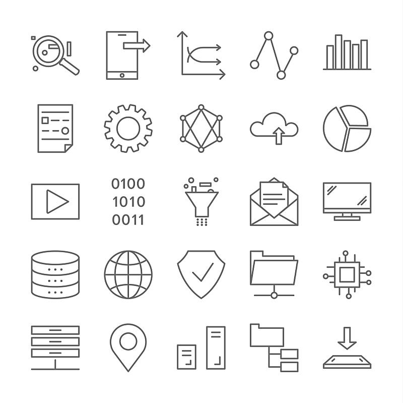 计算机图标,大数据,计算机设备,传媒,商务,安全,经理,计算机,图表,背景分离
