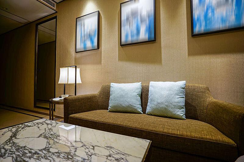 卧室,舒服,室内,高雅,spa美容,床垫,灯,家具,疲劳的,床头柜