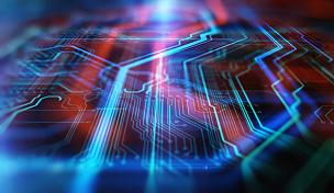 技术,蓝色,红色,背景,超文本链接标示语言,电路板,母板,电脑芯片,计算机语言,网络服务器