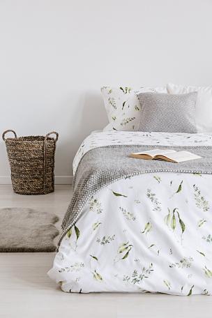 空的,纺织品,床单,床,自然,室内,毯子,枕头,墙,卧室