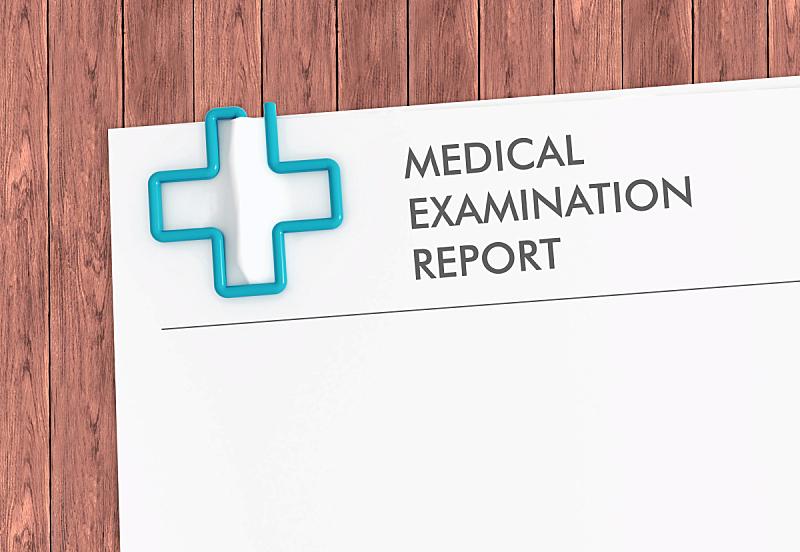 回形针,模板,报告,健康保健,十字形,病历,保险代理人,办公室,留白,水平画幅