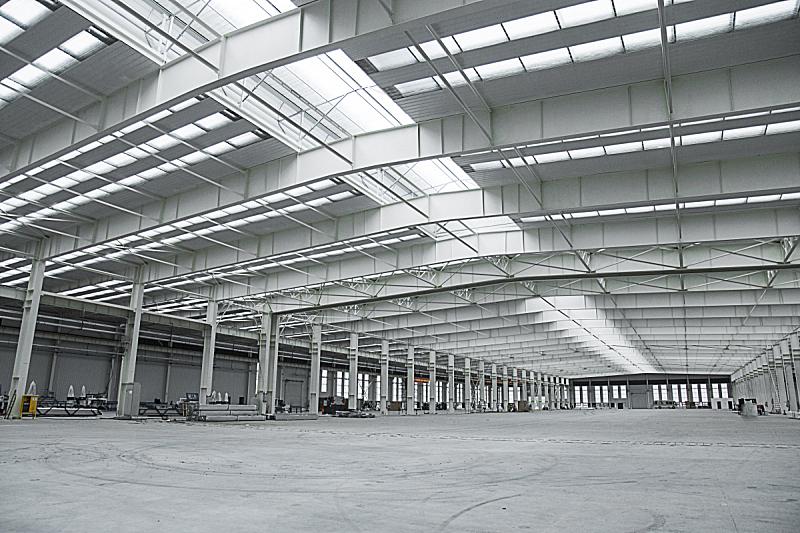 车间,仓库,水平画幅,无人,垒起,巨大的,货运,盒子,工厂,商店