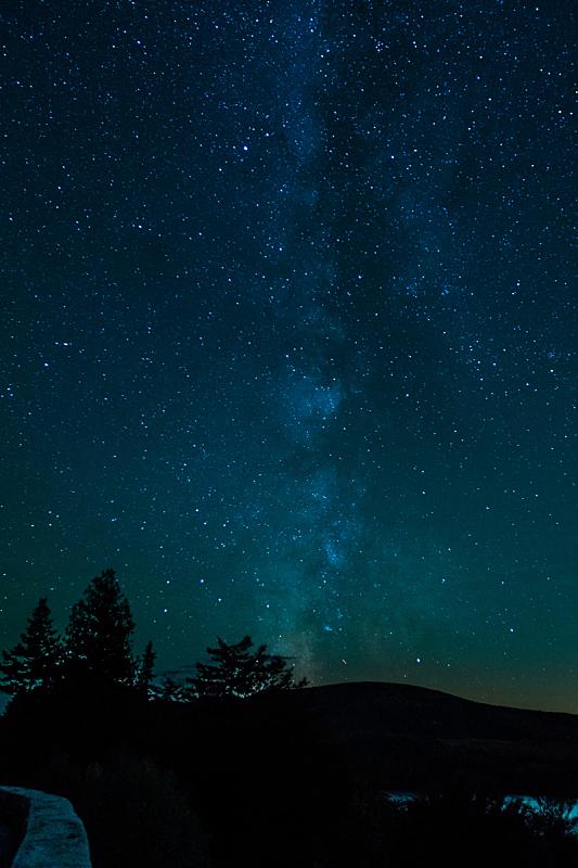 银河系,乔丹湖,在上面,阿卡迪亚国家公园,缅因州,星云,空间和天文学,星系,天空,原野