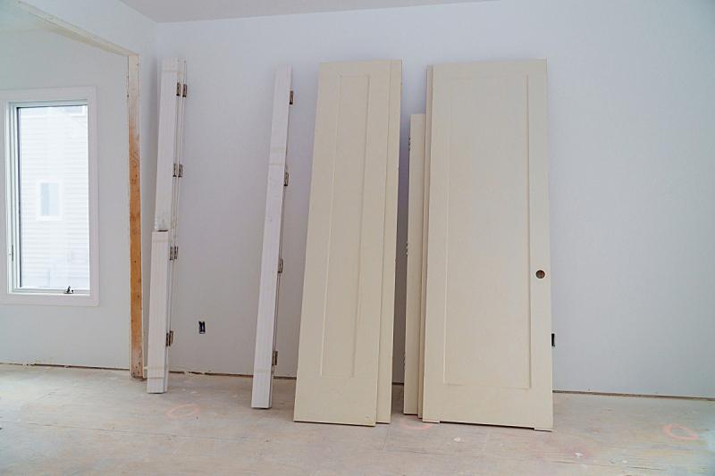 室内,建筑业,门,干壁,普通住宅区,前面,材料,厚木板,式样,不完全的