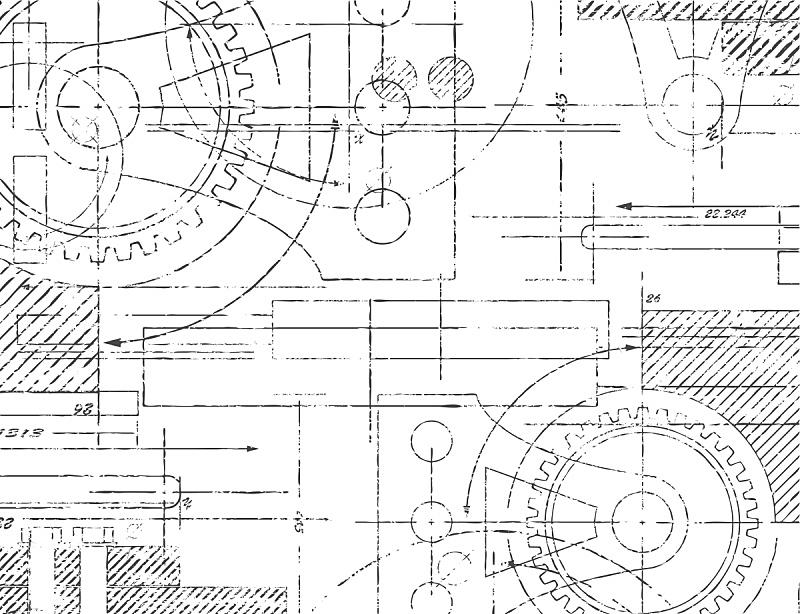 自行车齿轮,机件,蓝图,机器,建筑师,工程师,工程,草图,发动机,计划书