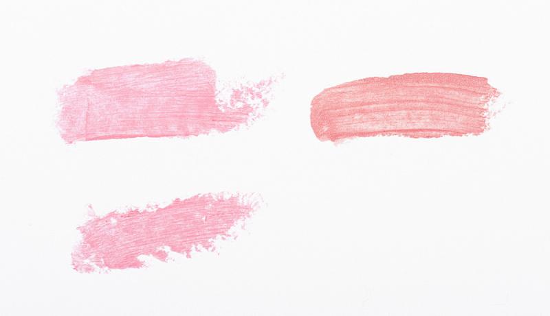 唇膏,织品样本,彩妆,水平画幅,化妆用品,特写,白色,化妆刷,大特写,闪亮的