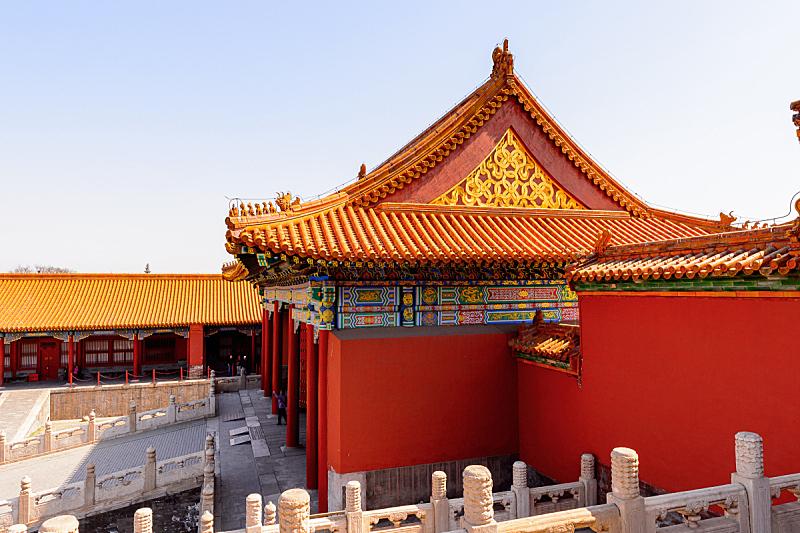 博物馆,宫殿,北京,故宫,明朝风格,一只动物,沈阳