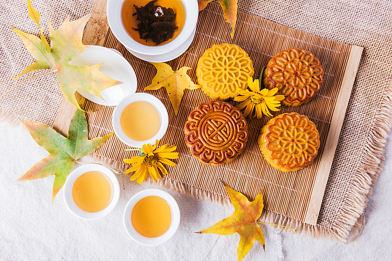 茶,传统,中秋节,蛋糕,杯,灵感,食品,中国食品,茶杯,传统节日