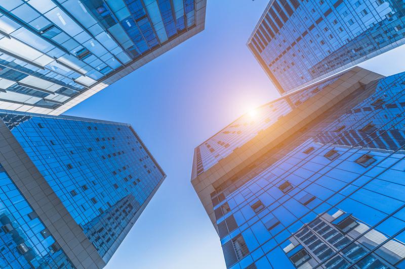 现代,城市,低视角,商务,城市生活,钢铁,商业金融和工业,窗户,建筑特色,天空