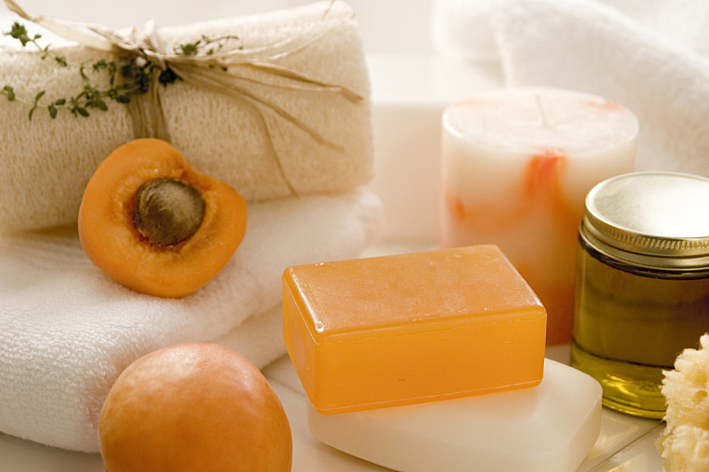 spa美容,杏,芳香的,水平画幅,无人,健康,活力,白色,清新,叶子