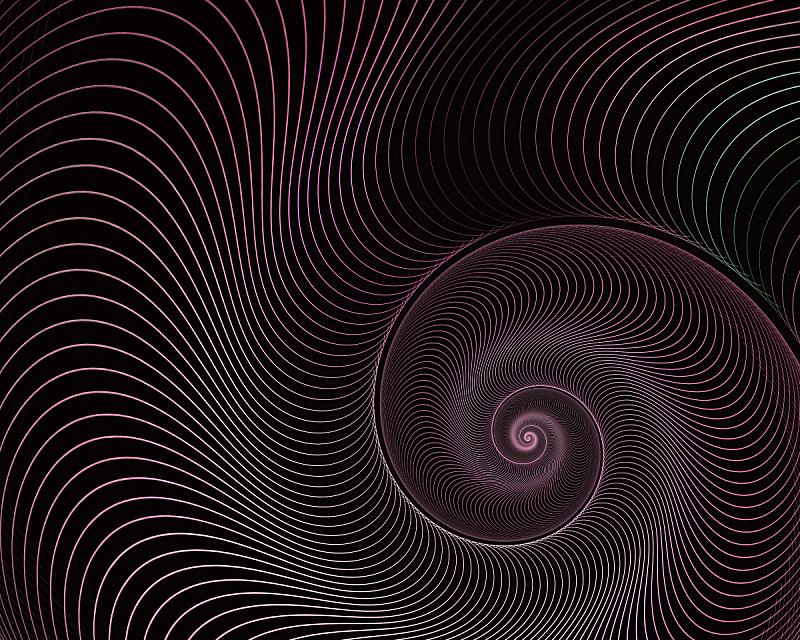 贝壳,分形,螺线,抽象,背景,活力,纹理效果,超现实主义的,对称,华贵