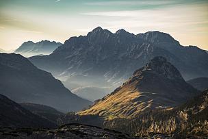 阿尔卑斯山脉,山脉,奥地利,牧场,苹果马提尼,山顶,波切斯盖登国家公园,贝希特斯加登,山,风景