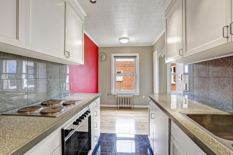 无人,公寓,厨房,饭厅,窗户,住宅房间,水平画幅,建筑,豪宅,天花板