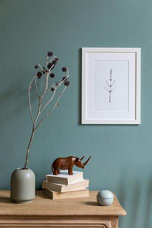 模板,木制,白色,公寓,高雅,架子,个人随身用品,装饰物,起居室,极简构图