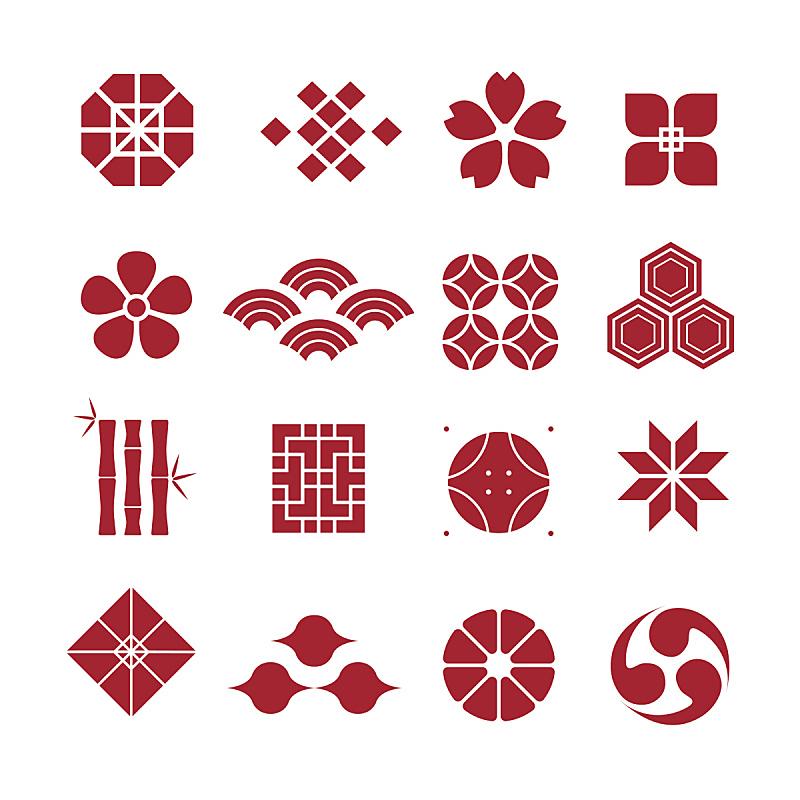 矢量,日本,装饰品,亚洲,华丽的,图像,雏菊,无人,绘画插图,刺绣