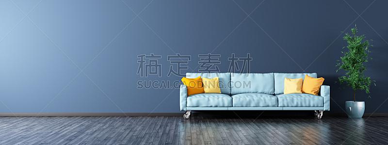 沙发,全景,起居室,三维图形,室内,住宅内部,公寓,家具,软垫,地板