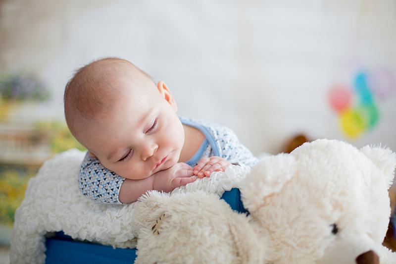 可爱的,羊毛帽,泰迪熊,男婴,小的,沙子,光,男性,明亮,疲劳的