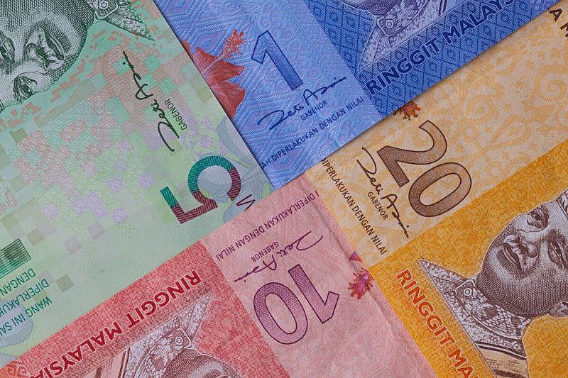 马来西亚林吉特,马来西亚,已付,水平画幅,无人,金融,丰富,金融和经济,信用卡,商业金融和工业