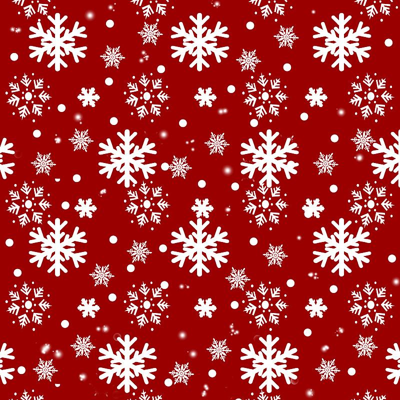 白色,冬天,雪花,红色背景,自然美,贺卡,式样,新的,雪