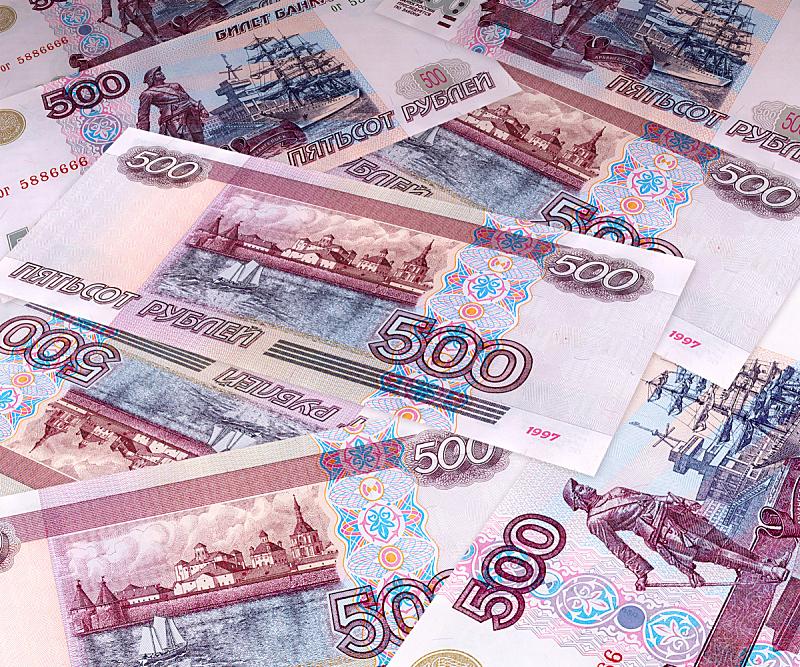 钞票卷,使徒彼得,俄罗斯卢布,敞篷车,俄罗斯人,水平画幅,代币,莫斯科,俄罗斯,彩色图片