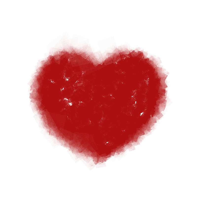 心型,符号,浪漫,背景分离,方形画幅,情人节,摄影,爱