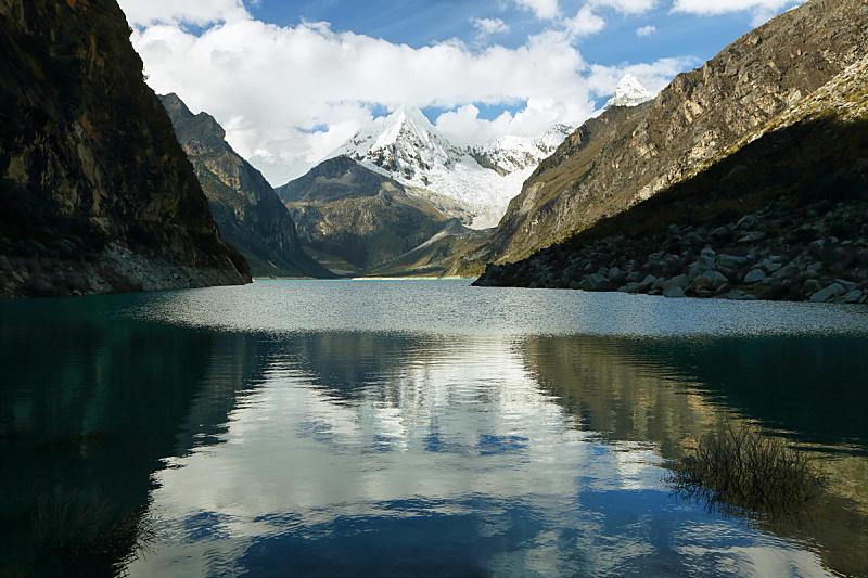 拉古娜湖,pyramid mountain,水,水平画幅,雪,无人,户外,美洲,湖,玻璃水瓶