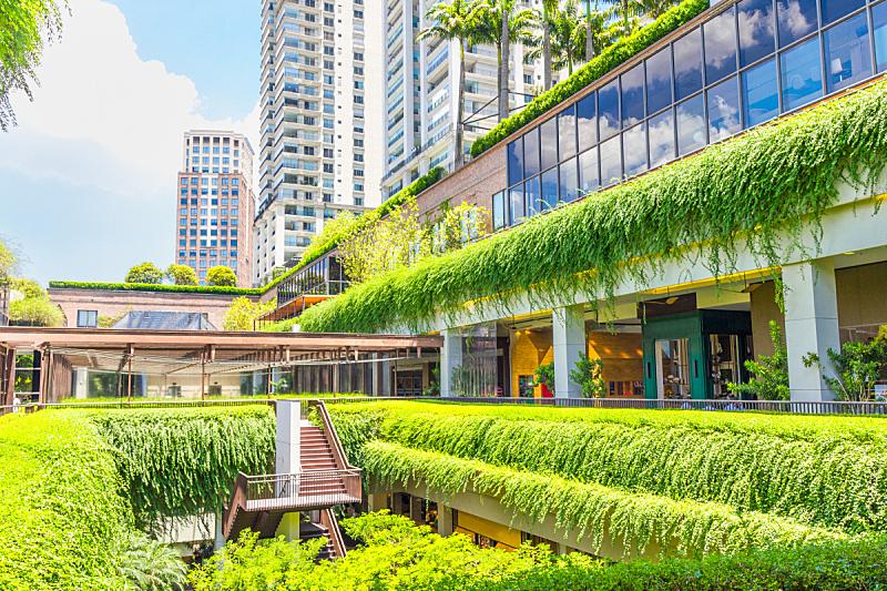 购物中心,圣保罗州,建筑外部,环境,巴西,可持续资源,圣保罗,环境保护,园林,能源