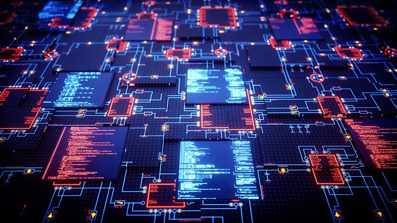 电路板,未来,特写,电脑芯片,电子行业,安防系统,数字化显示,互联网,计算机制图,电脑晶片