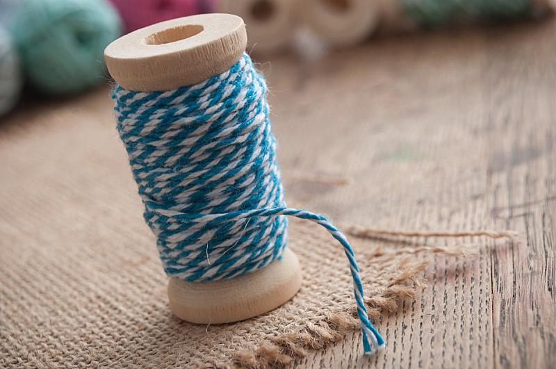 线,线轴,木制,桌子,背景,艺术,水平画幅,纺织品,纤维,组物体