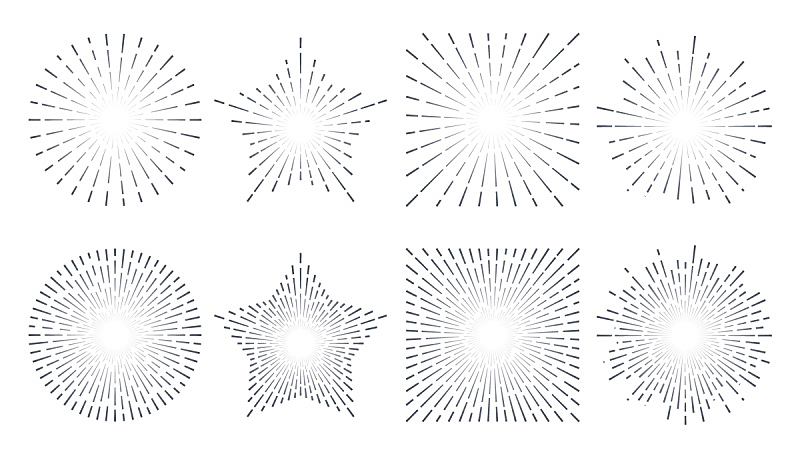 抽象,太阳,线条,复古,绘画插图,边框,艺术,水平画幅,形状,星星
