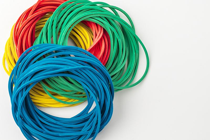 橡皮圈,色彩鲜艳,背景,彩虹,织机,商务,部分,美术工艺,塑胶,技能