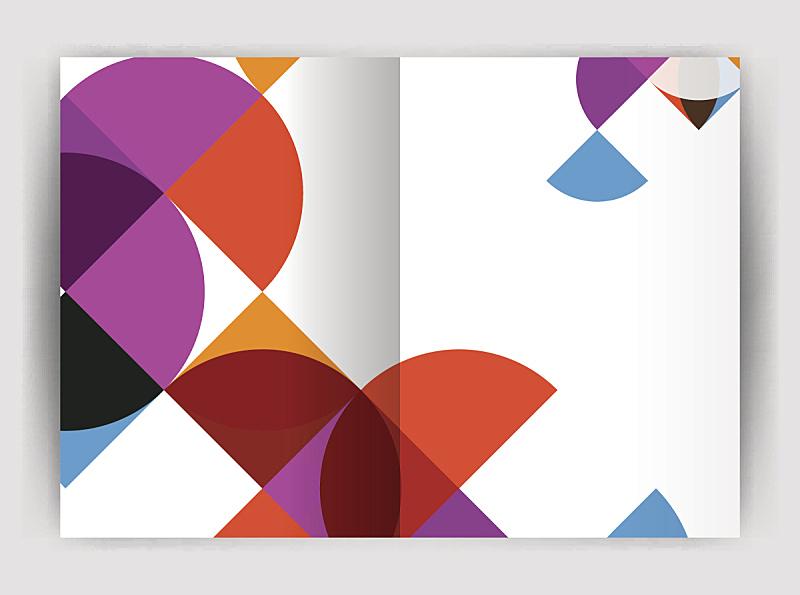 圆形,抽象,计划书,模板,商务,报告,几何形状,形状,矢量