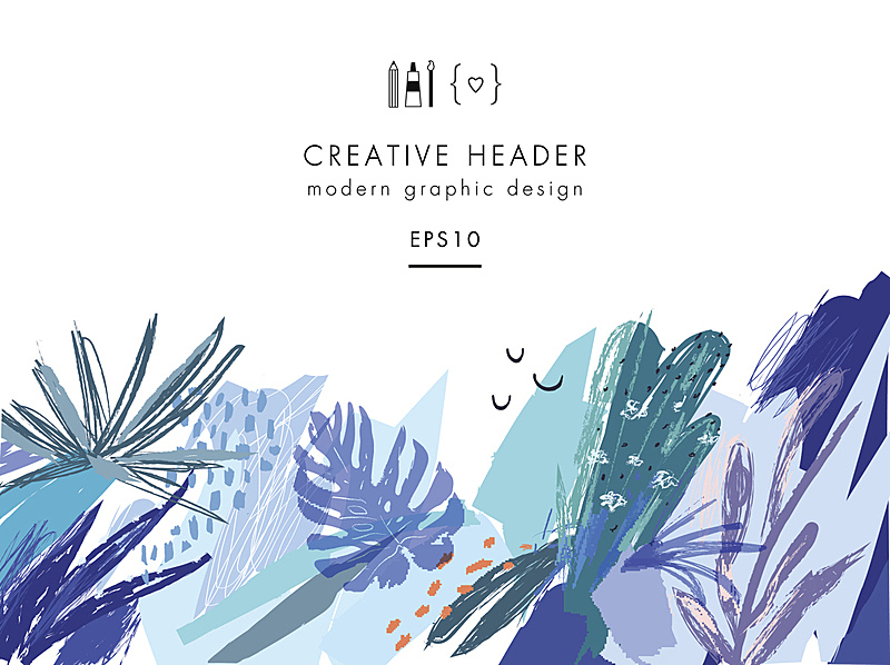 时尚,创造力,头球,全球通讯,鸡尾酒,贺卡,水彩画颜料,热带气候,从容态度,现代