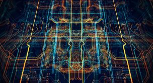 电路板,网络服务器,未来,电脑芯片,计算机语言,编码,母板,中央处理器,散焦,水平画幅