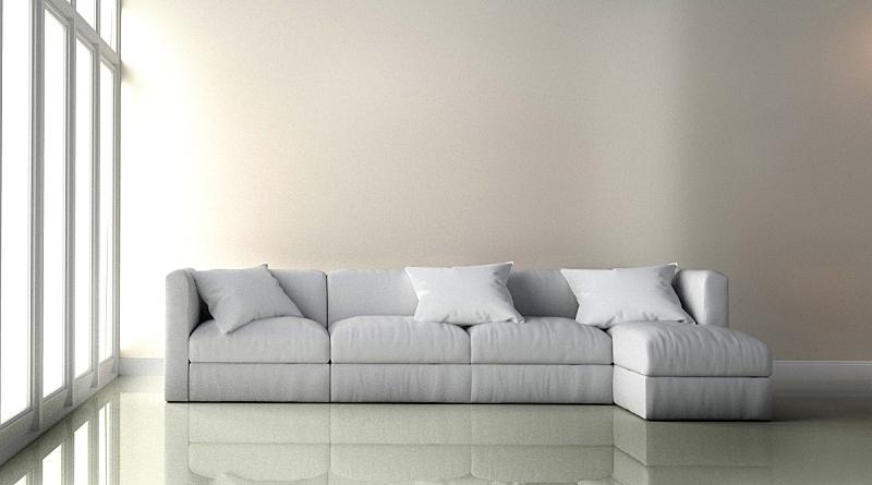 扶手椅,三维图形,起居室,室内,白色背景,空的,纺织品,华贵,灰色,简单
