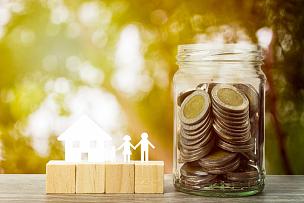 商务,家庭,房地产,房屋,概念,贷款,模型,金融,投资