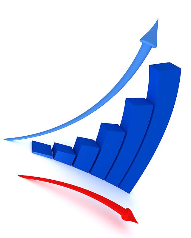 图表,商务,股市和交易所,红色,箭头符号,数据,股市数据,弯的,垂直画幅,图像